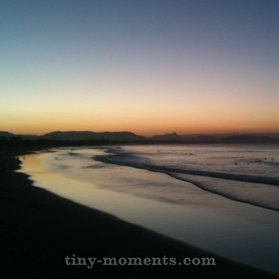 Twilight at Byron Bay